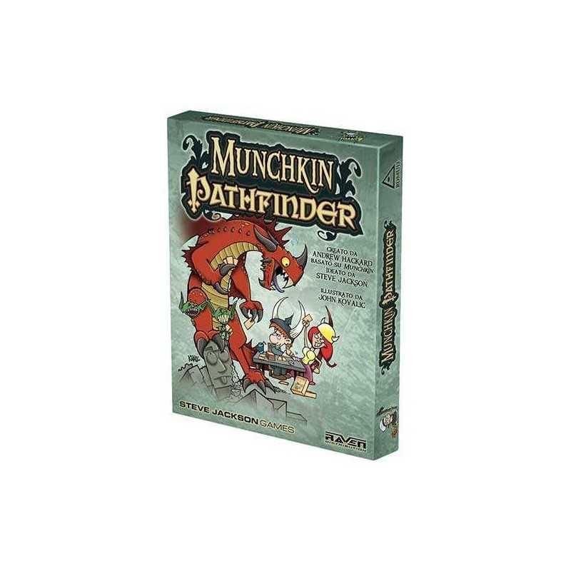 MUNCHKIN PATHFINDER edizione italiana gioco base gioco di carte demenziale
