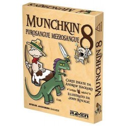 MUNCHKIN 8 PUROSANGUE MEZZOSANGUE ediz. ITA espansione x Munchkin gioco di carte