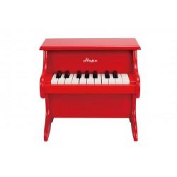 PLAYFUL PIANO PIANOFORTE DIVERTENTE gioco in legno HAPE età 3+ rosso 18 TASTI
