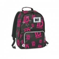 ZAINO ONE DIRECTION SEVEN 1D cartella borsa bag scuola NERO Global