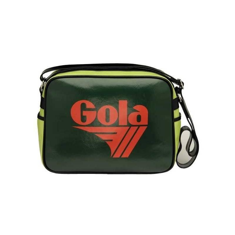 BORSA REDFORD MESSENGER BAG Gola Classics GREEN CUB901 cartella scuola TRACOLLA