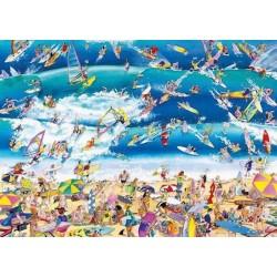Puzzle HEYE 1000 pz SURFING 50x70 cm Blachon