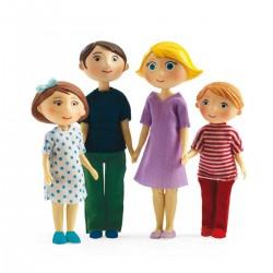 FAMIGLIA GASPARD E ROMY casa delle bambole accessorio Djeco DJ07811 Mon petit home