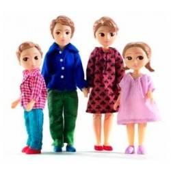 FAMIGLIA THOMAS E MARION casa delle bambole accessorio Djeco DJ07810 Mon petit home