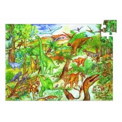 Puzzle scoperta DINOSAURI 100 pezzi età 5-7 Djeco DJ07424