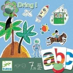 ABC DRING gioco da tavolo educativo Djeco DJ08484