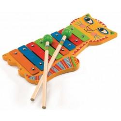 XILOFONO in legno e metallo Djeco Animambo DJ06002