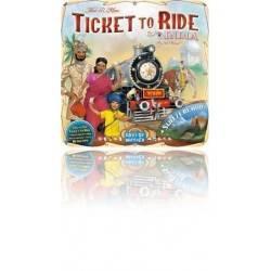 INDIA + SVIZZERA - ESPANSIONE gioco da tavolo TICKET TO RIDE Days of wonder