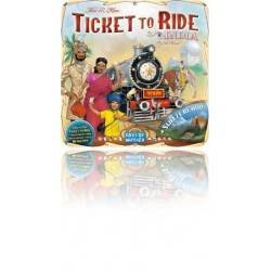 INDIA + SVIZZERA - ESPANSIONE gioco da tavolo TICKET TO RIDE Days of wonder