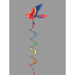 PARROT 3D TWIST PAPPAGALLO diametro 40 cm girandola INVENTO HQ wind game