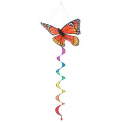 BUTTERFLY TWIST 3D MONARCH diam. 29 cm girandola FARFALLA INVENTO HQ wind game