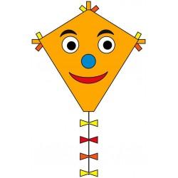 AQUILONE MONOFILO ECOLINE HAPPY FACE single line kite INVENTO HQ