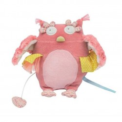 PUPAZZO MUSICALE sonoro GUFO peluche MOULIN ROTY Mademoiselle et Rimbambelle NINNA NANNA
