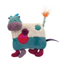 MUCCA MUSICALE sonora MOULIN ROTY Les jolis pas beaux PELUCHE pupazzo