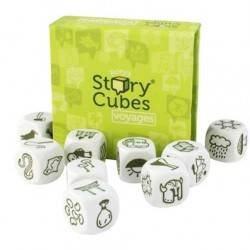 STORY CUBES VIAGGI Voyages Verde RORY'S gioco dadi canta storie RACCONTA FAVOLE