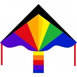 AQUILONE MONOFILO ECOLINE RAINBOW 120 cm ARCOBALENO single line kite INVENTO HQ