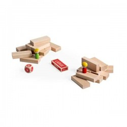 CRAZY CRAZY PALACE PALACE wooden toy MILANIWOOD 5 + made in Italy