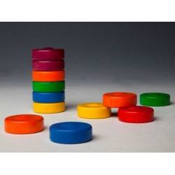 TORRE STEALS wooden toy MILANIWOOD COLOR 100% made in Italy + 6
