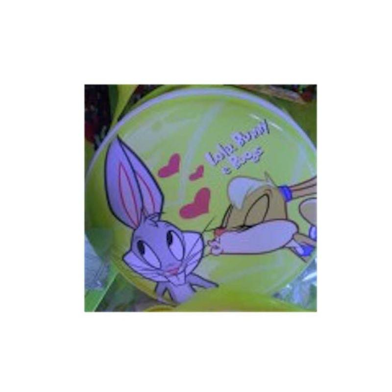 borsa LOLA BUNNY BUGS Cartorama Disney Loony Tunes zip manico bag shopper tonda