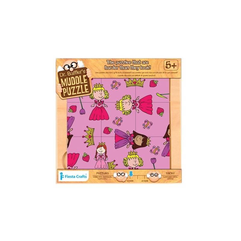 9 Pièces de puzzle. « Princesse », 5 ans +