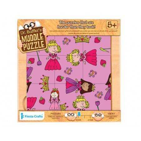 "Puzzle 9 pz. ""Principessa"", età 5+"