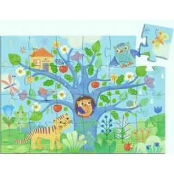 Puzzle Djeco CIAO GUFO 24 pezzi età 3+