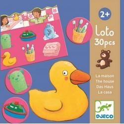 LOTO 30 PEZZI LA CASA TOMBOLA giochi Djeco DJ08121 da 2 anni