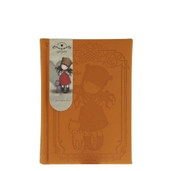 TACCUINO GOFFRATO PURRRRRFECT LOVE Gorjuss 377GJ03 SANTORO notebook 320 pagine