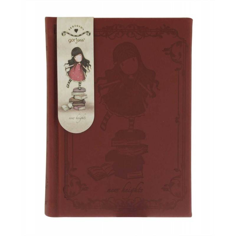 TACCUINO GOFFRATO NEW HEIGHTS Gorjuss 377GJ01 SANTORO notebook 320 pagine