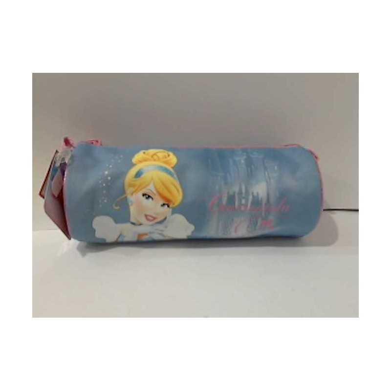Astuccio tombolino CENERENTOLA cindarella CARTORAMA azzurro Disney Princess 2015