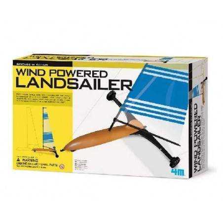LANDSAILER land sailer CARRO A VELA veliero di terra 4M scienza da montare 10+