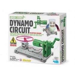 DYNAMO CIRCUIT BOARD circuito dinamo 4M scienza da montare SENZA BATTERIE età 8+