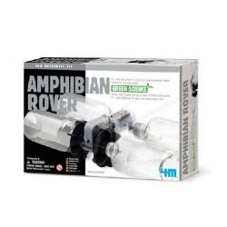 AMPHIBIAN ROVER veicolo anfibio 4M scienza da montare SU ACQUA E SU TERRA età 8+