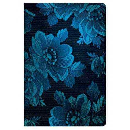 Diario a righe MUSA BLU mini cm 10x14 PAPERBLANKS Chic Satin Blue Muse