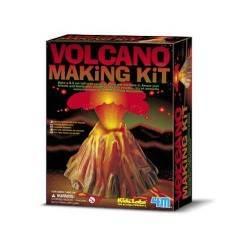 VOLCANO MAKING Kit scientifico per realizzare un VULCANO età8+ 4M erutta davvero