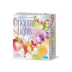 Origami Lights ORIGAMI CON LUCI DA APPENDERE kit artistico gioco 4M età 5+ bimbi