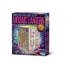 Mosaic Lantern 4M Crea la tua LAMPADA MOSAICO kit artistico gioco bimbi Età 5+