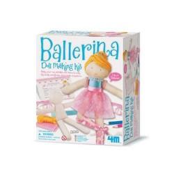 Ballerina Doll 4M kit artistico gioco bimbi per REALIZZA UNA BALLERINA età 5+