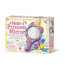 Make a Princess Mirror CREA UNA SPECCHIO DA PRINCIPESSA kit artistico 4M età 5+