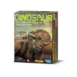 DIG A TRICERATOPS scava riporta alla luce triceratopo DINOSAURI kit arte 4M 8+