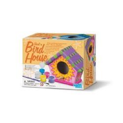 COLORA Casetta uccelli Casa uccellini PAINT BIRD HOUSE kit artistico 4M età 8+