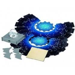 Kit proiezione CIELO NOTTURNO scientifico x bambini 4M gioco proietta stelle 8+