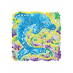 Window Mosaic Nature DOLPHIN 4M Kit Artistico Mosaico Finestra Animali DELFINO 7+