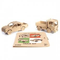Libro Simba 2 Camion Truck Kit da COSTRUIRE cartone 28 Magic World GUT pick up