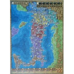 ALTA TENSIONE espansione MAPPA ITALIA FRANCIA Power Grid map Italy France