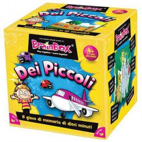 BRAIN BOX IMMAGINI dei piccoli italiano gioco di carte memoria da 4 anni memory