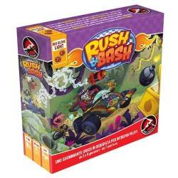 RUSH & BASH italiano gioco di corse e combattimento demenziale Red Glove