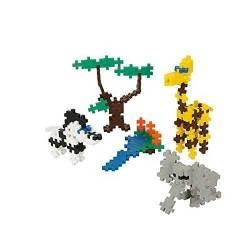 MINI BASIC 170 pezzi ANIMALI SAVANA PLUSPLUS gioco modulare costruzioni
