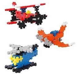 MINI BASIC 170 pezzi AEROPLANI PLUSPLUS gioco modulare costruzioni aerei