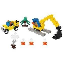 MINI BASIC 360 pezzi CANTIERE PLUSPLUS gioco modulare costruzioni colorate